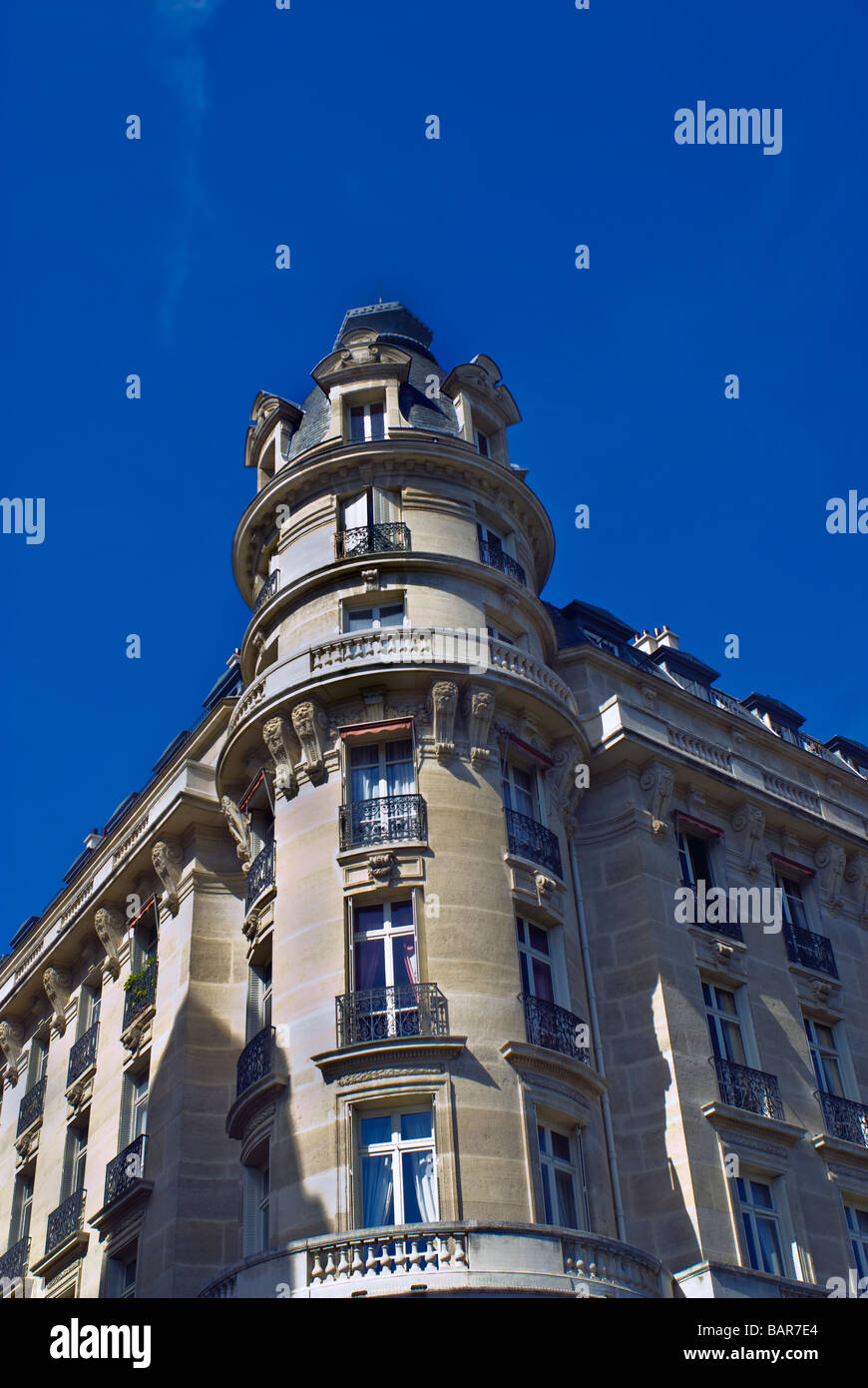 Paris, France, 'Apartment Building' Flats, 'Real Estate', housing in 16th District, Passy Area - Stock Image