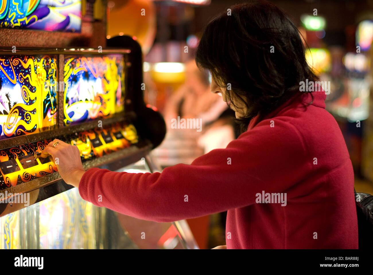 Amusement Arcade - Stock Image