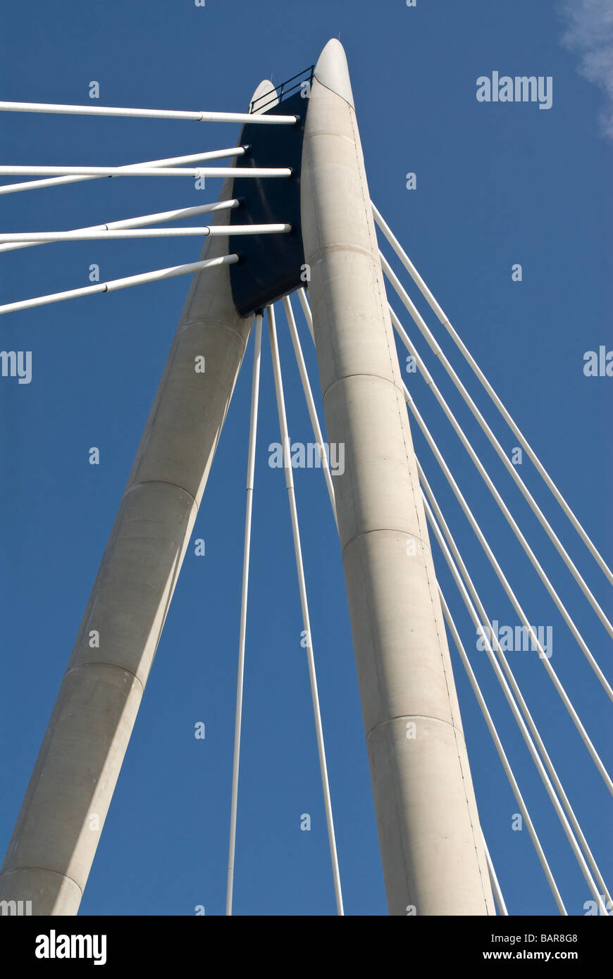 Southport Bridge Structure - Stock Image