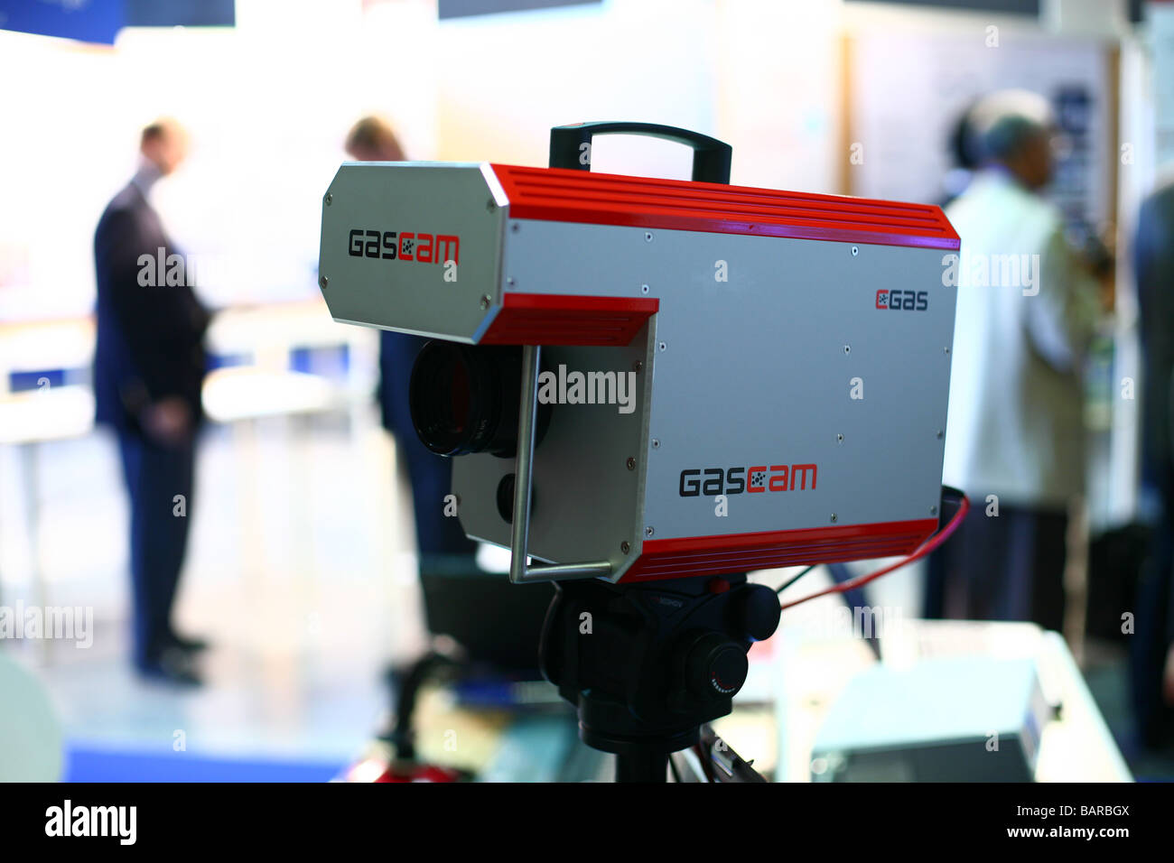 Gas technologies and components:natural gas leakage detection camera - Stock Image