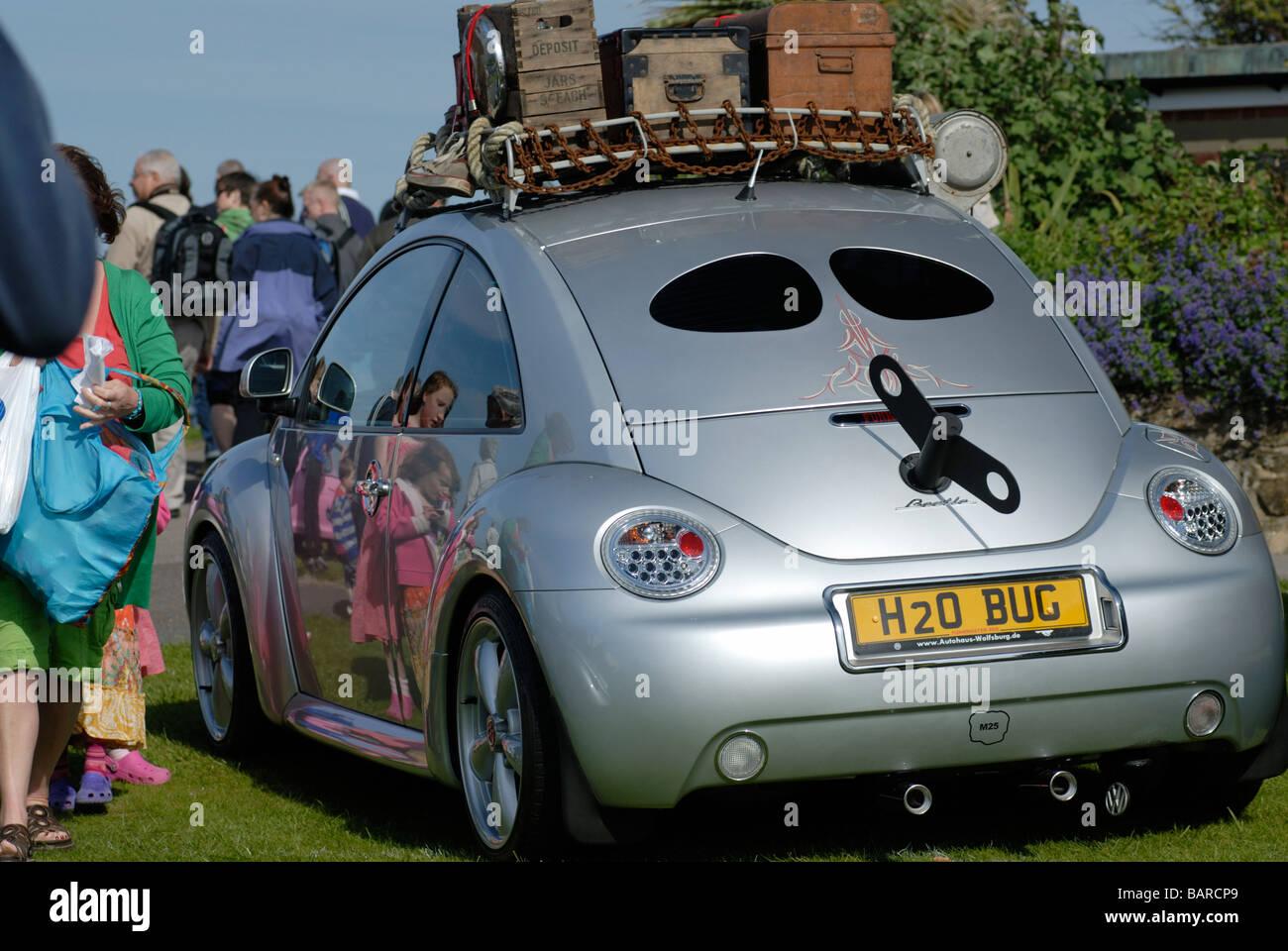 """Volkswagen beetle with """"winder"""" Stock Photo"""