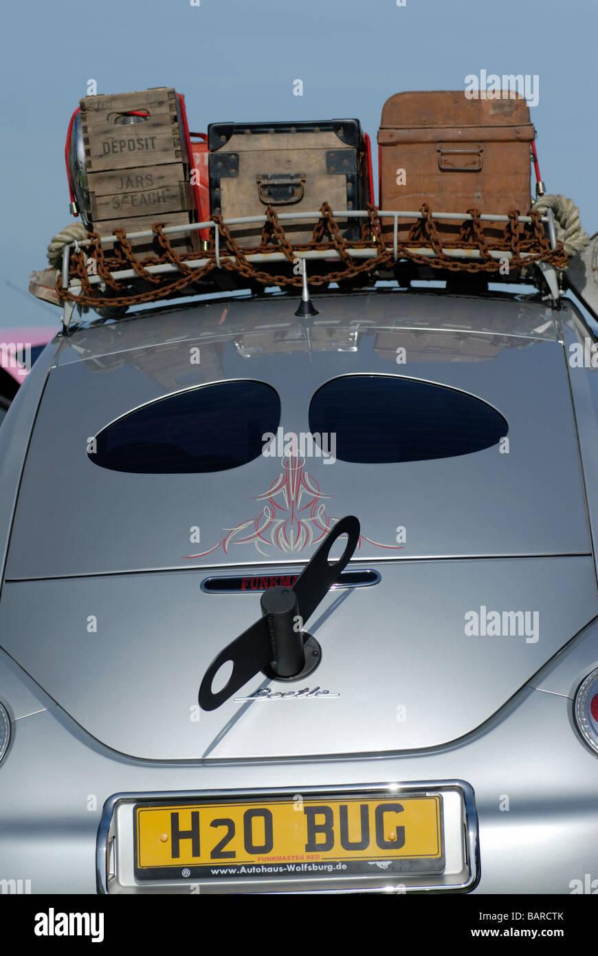 """Volkwagen beetle with """"winder"""" Stock Photo"""