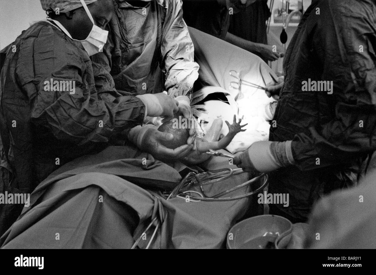 Operating Gown Black and White Stock Photos & Images - Alamy