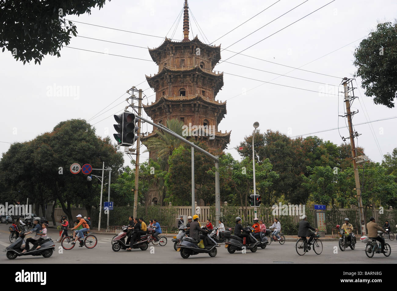 Kaiyuan Si Temple in Quanzhou, Fujian, China. 14-Apr-2009 - Stock Image