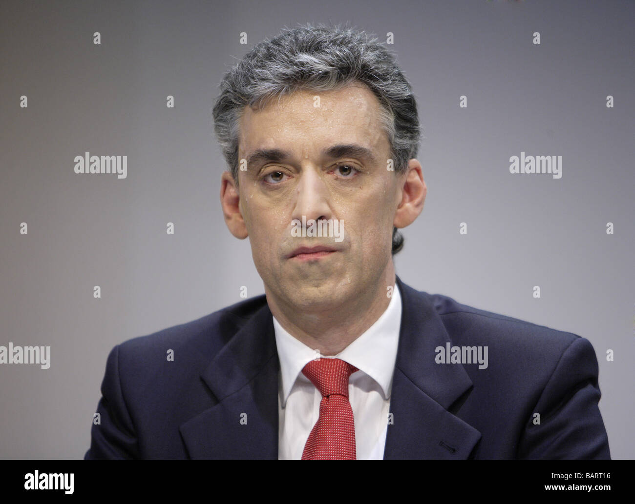Frank APPEL CEO of Deutsche Post AG Bonn Germany - Stock Image