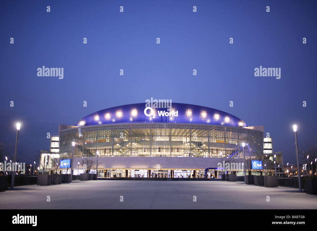 O2 World Berlin Germany - Stock Image