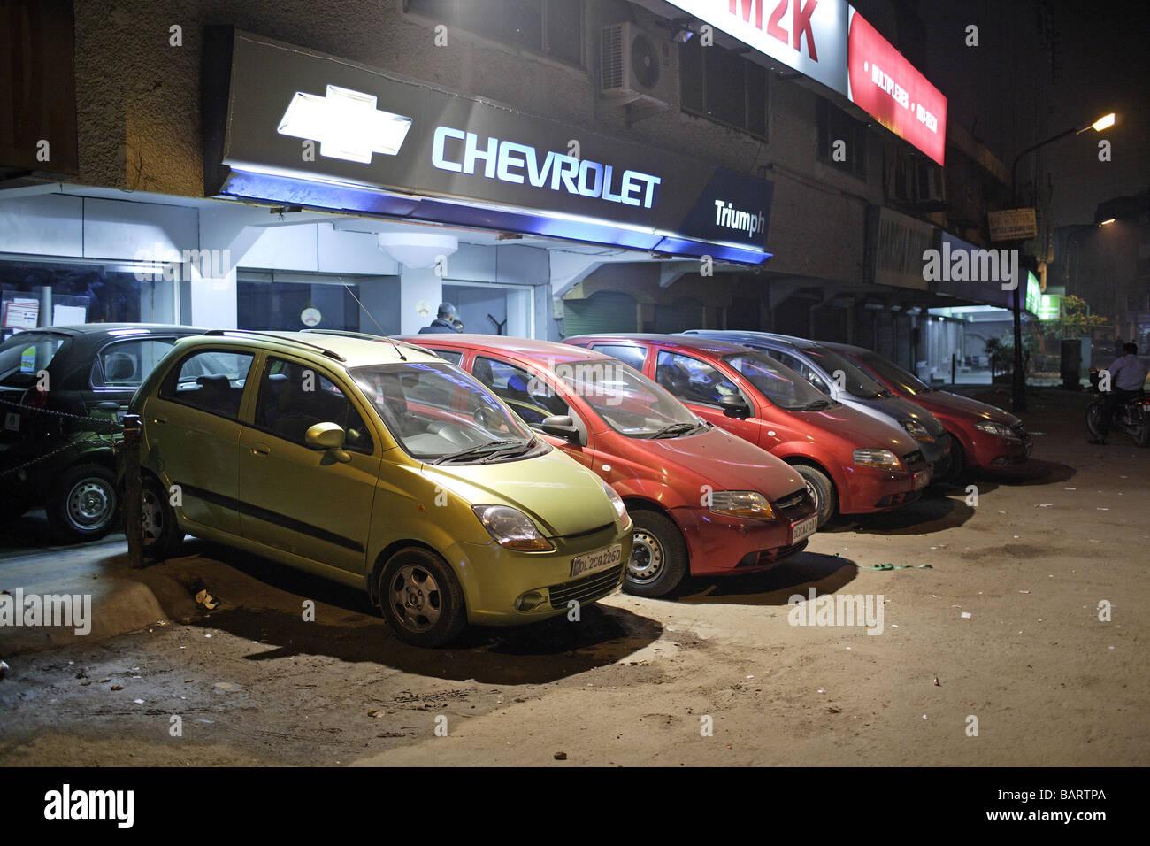 Chevrolet dealer New Delhi - Stock Image