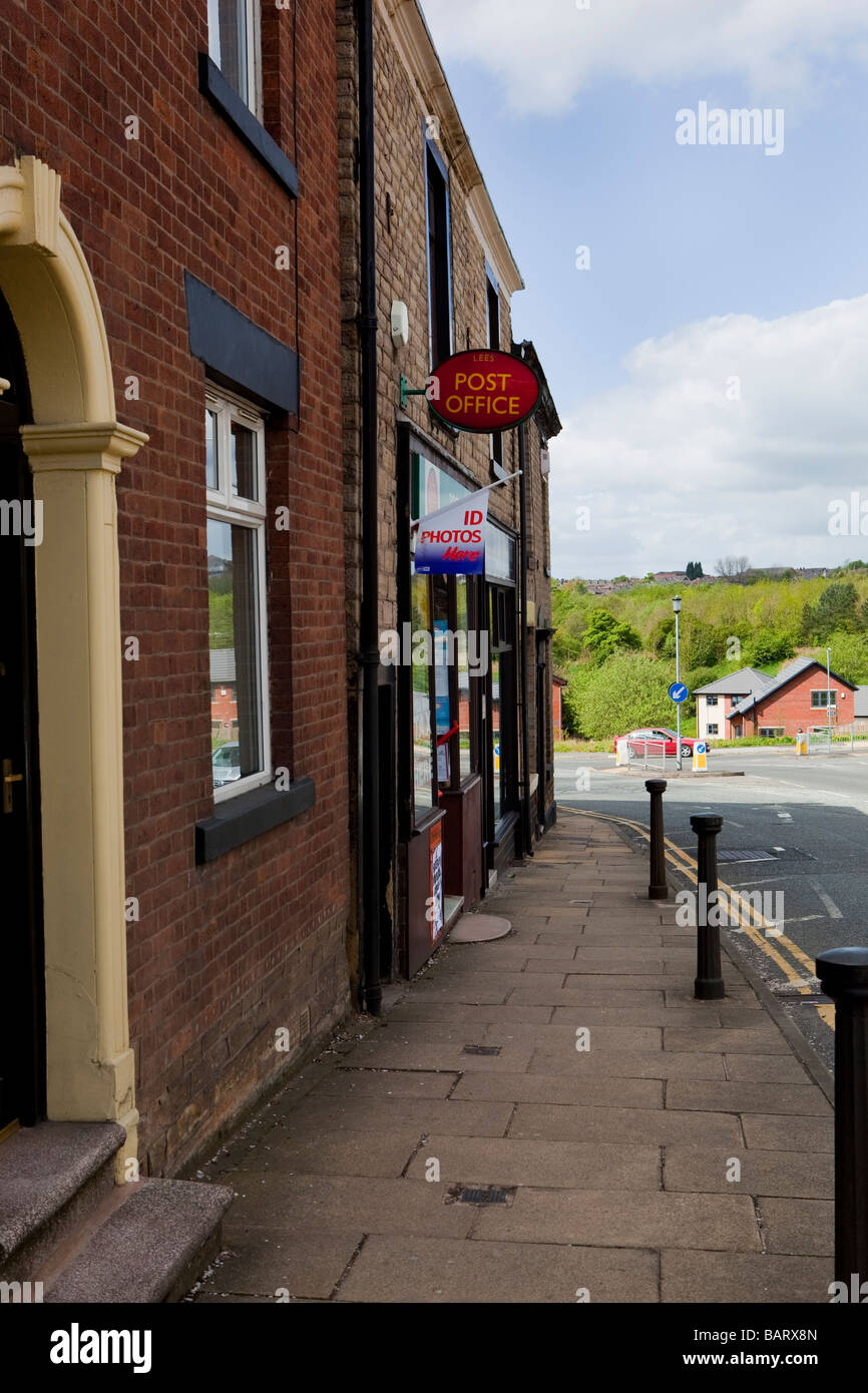 Sub Post Office Lees Saved from Closure - Stock Image