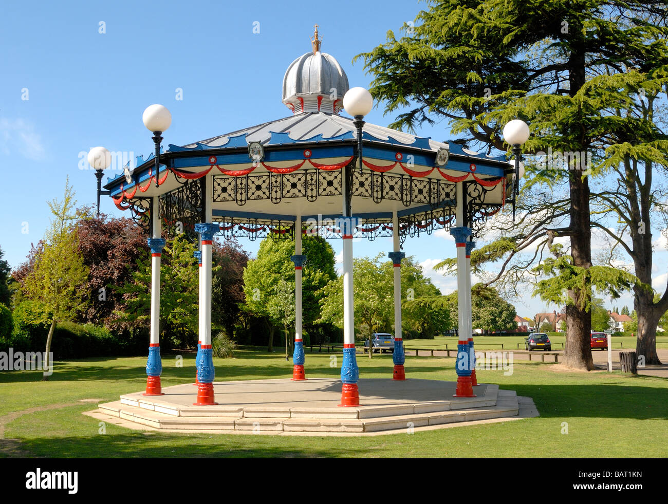 Priory Park Prittlewell Southend on Sea Essex England UK - Stock Image