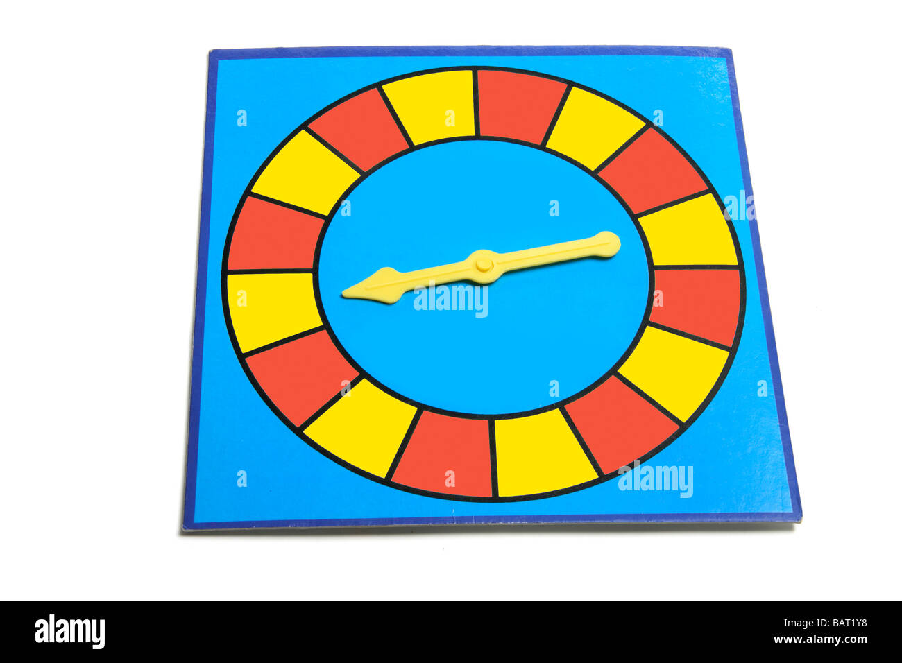 Spin and Seek Game - Stock Image