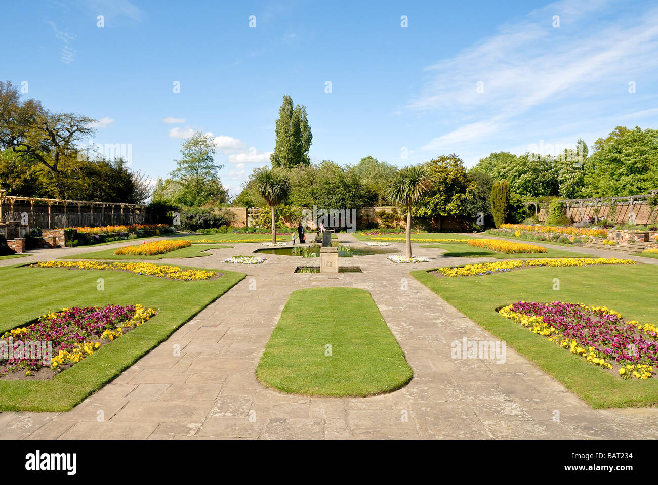 Priory Park Prittlewell Southend on Sea Essex England UK Stock Photo
