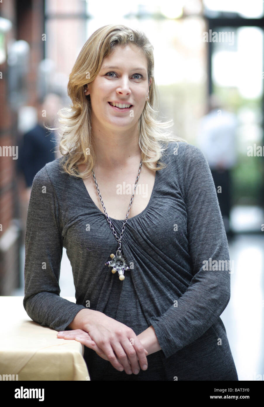 Silvana KOCH MEHRIN Chairman of the Free Democratic Party FDP in the european parlament Berlin Germany - Stock Image