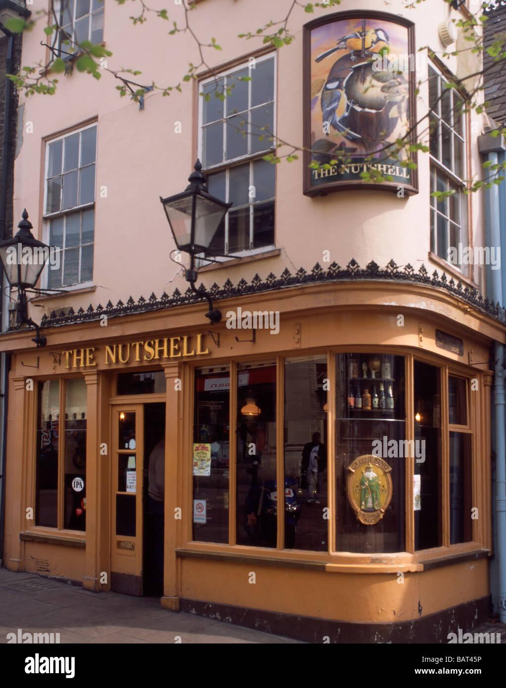 England Suffolk Bury StEdmunds Nutshell pub - Stock Image
