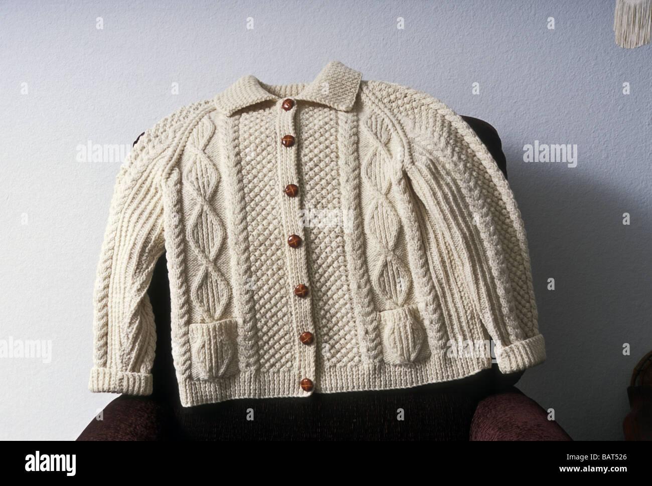 Baby GAA Kilkenny Cardigan Boy Girl Irish Woolen Sweater
