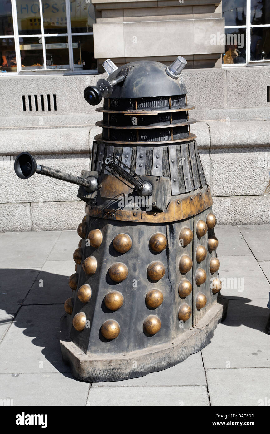 Dalek from Dr Who  BBC TV programme, London, England, UK - Stock Image