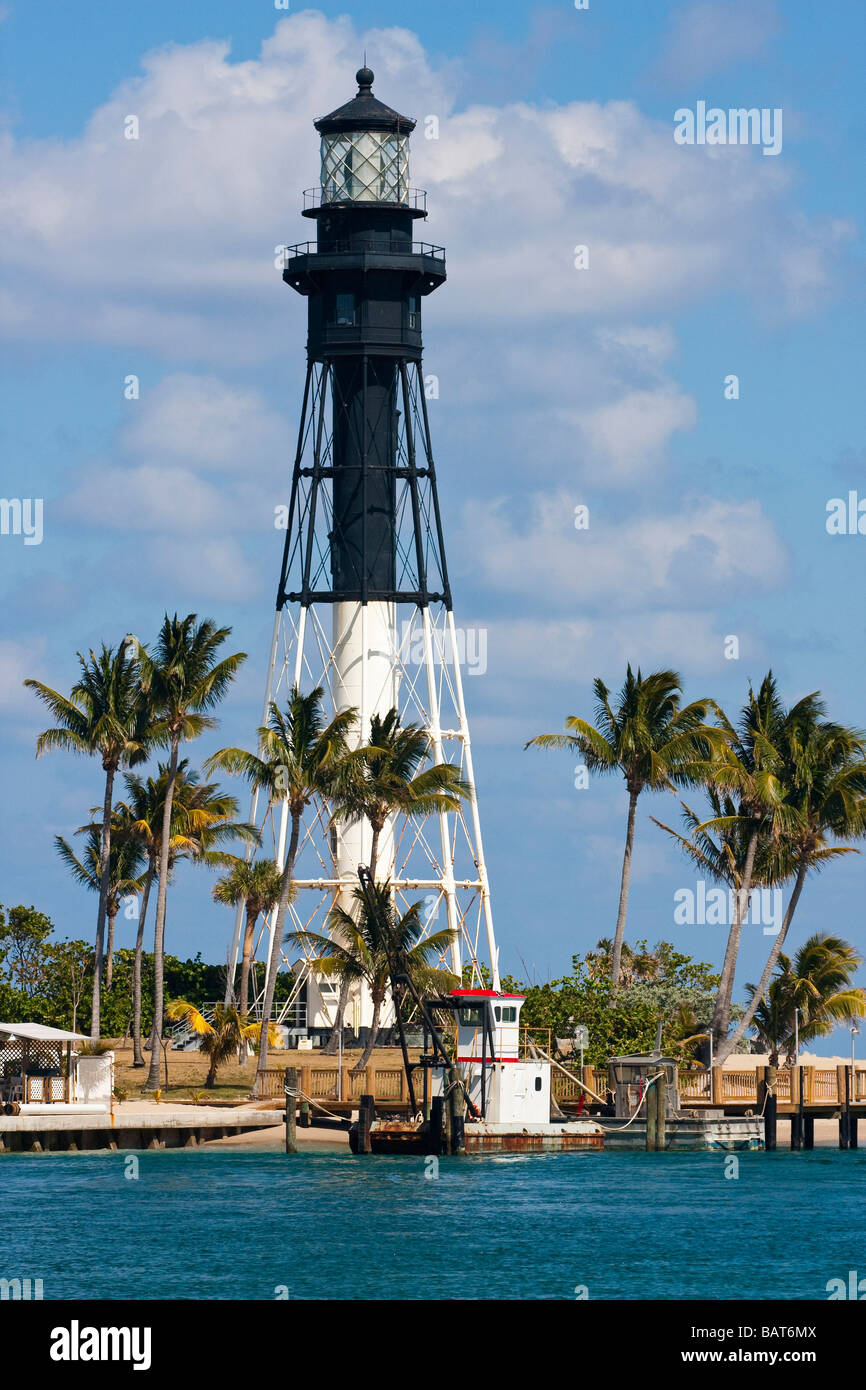 Fort Lauderdale lighthouse Stock Photo