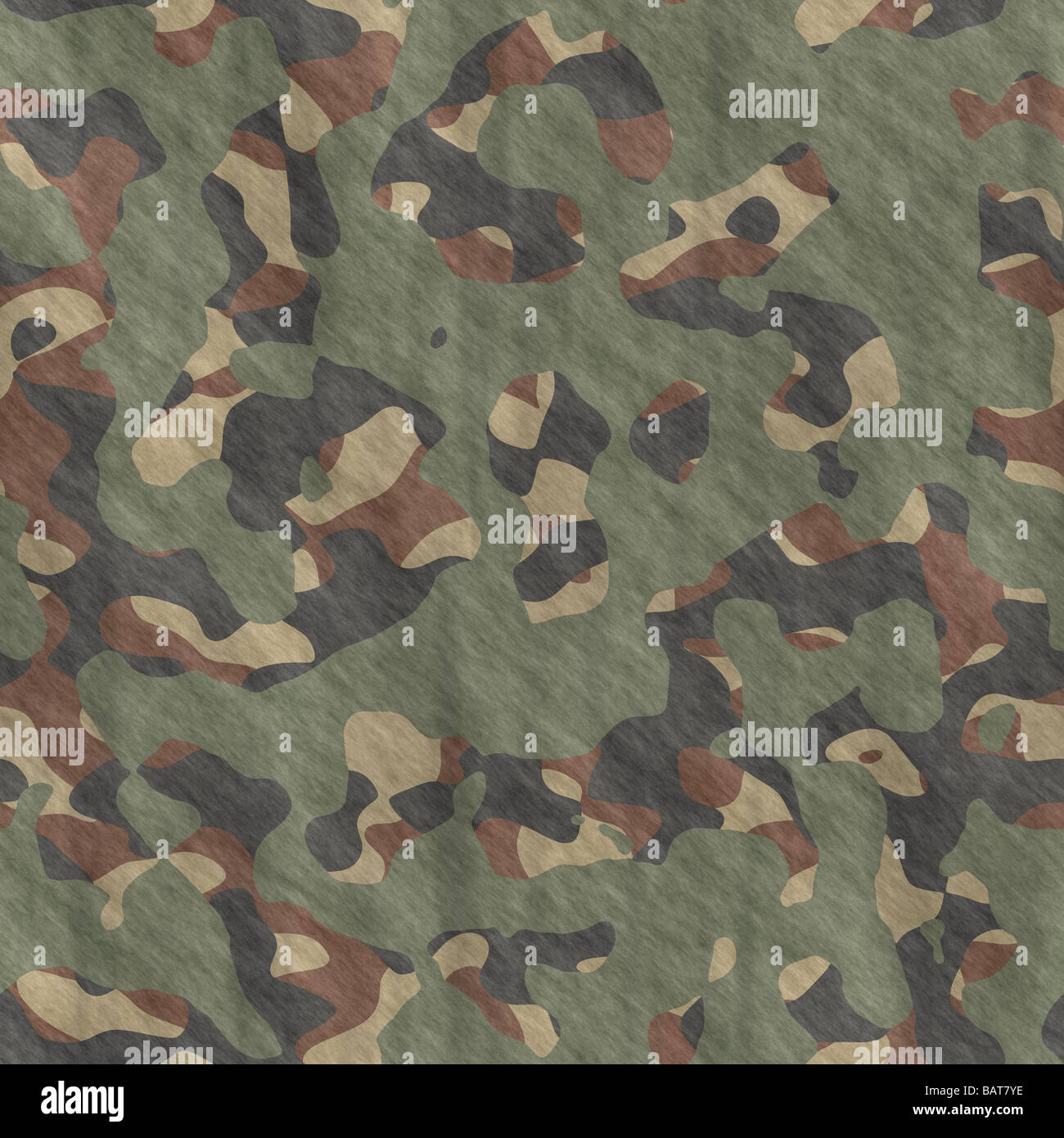 excellent image of camouflage pattern cloth or fabric - Stock Image