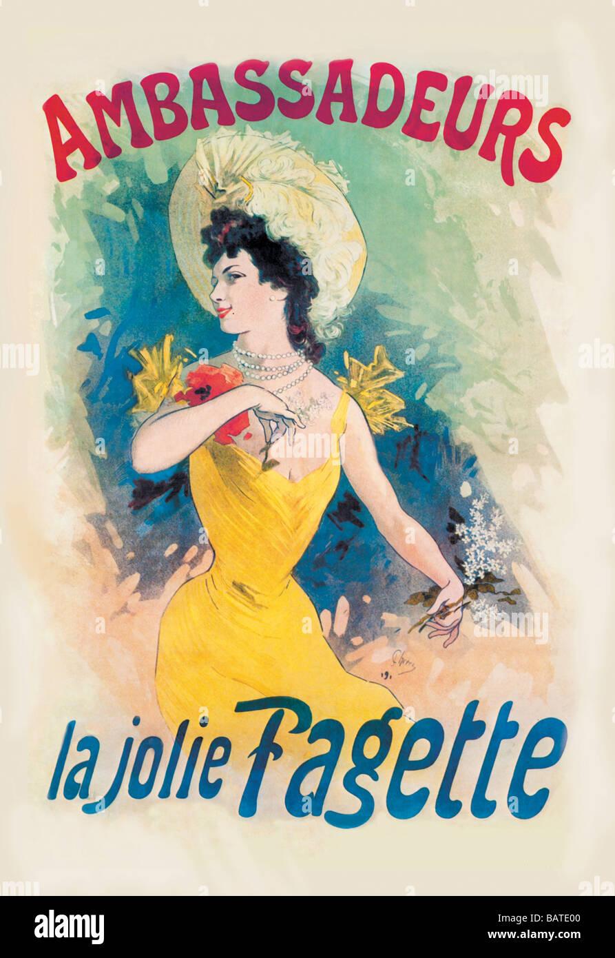 Ambassadeurs: La Jolie Fagette Stock Photo