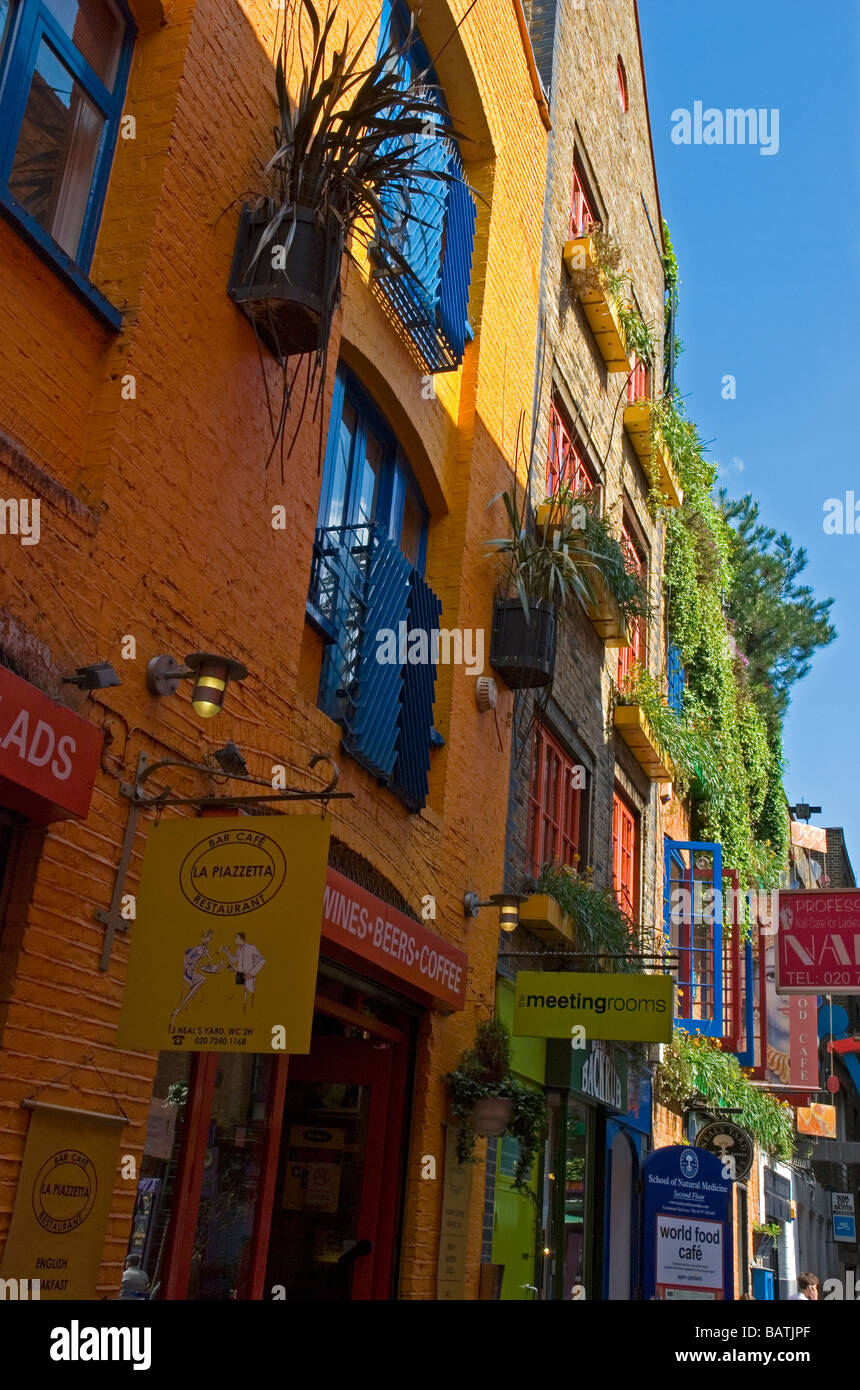 Neal\'s Yard in Covent Garden London England UK Stock Photo: 23898519 ...