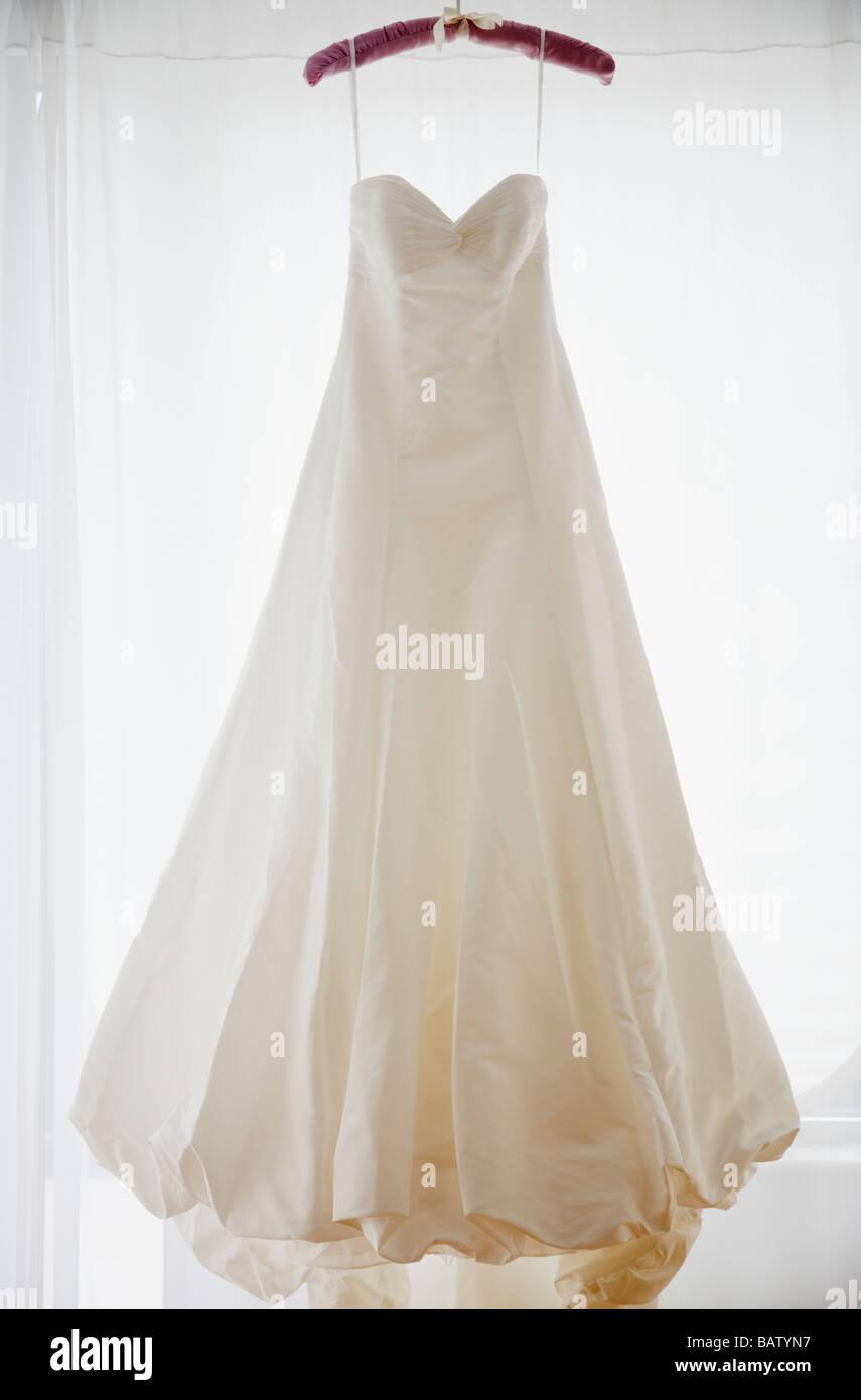 Wedding Dress Hanger.Wedding Dress Hanger Stock Photos Wedding Dress Hanger Stock