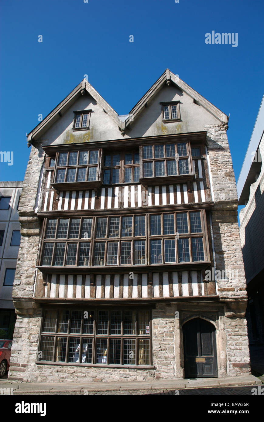 The Merchant's House Museum, Plymouth, Devon, UK - Stock Image