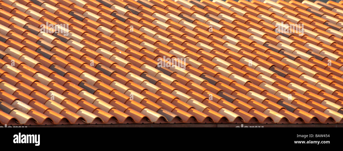 Tile roof. - Stock Image