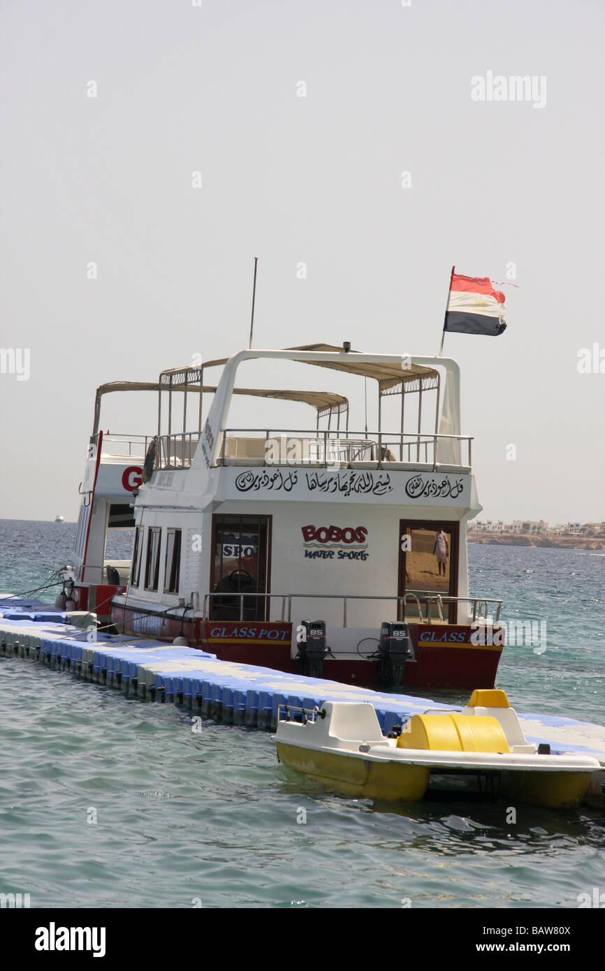 boat excursions sharm el sheikh - Stock Image