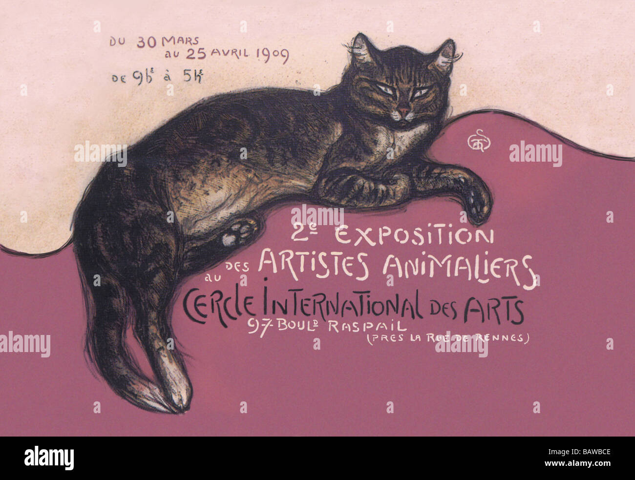 Exposition des Artistes Animaliers - Stock Image