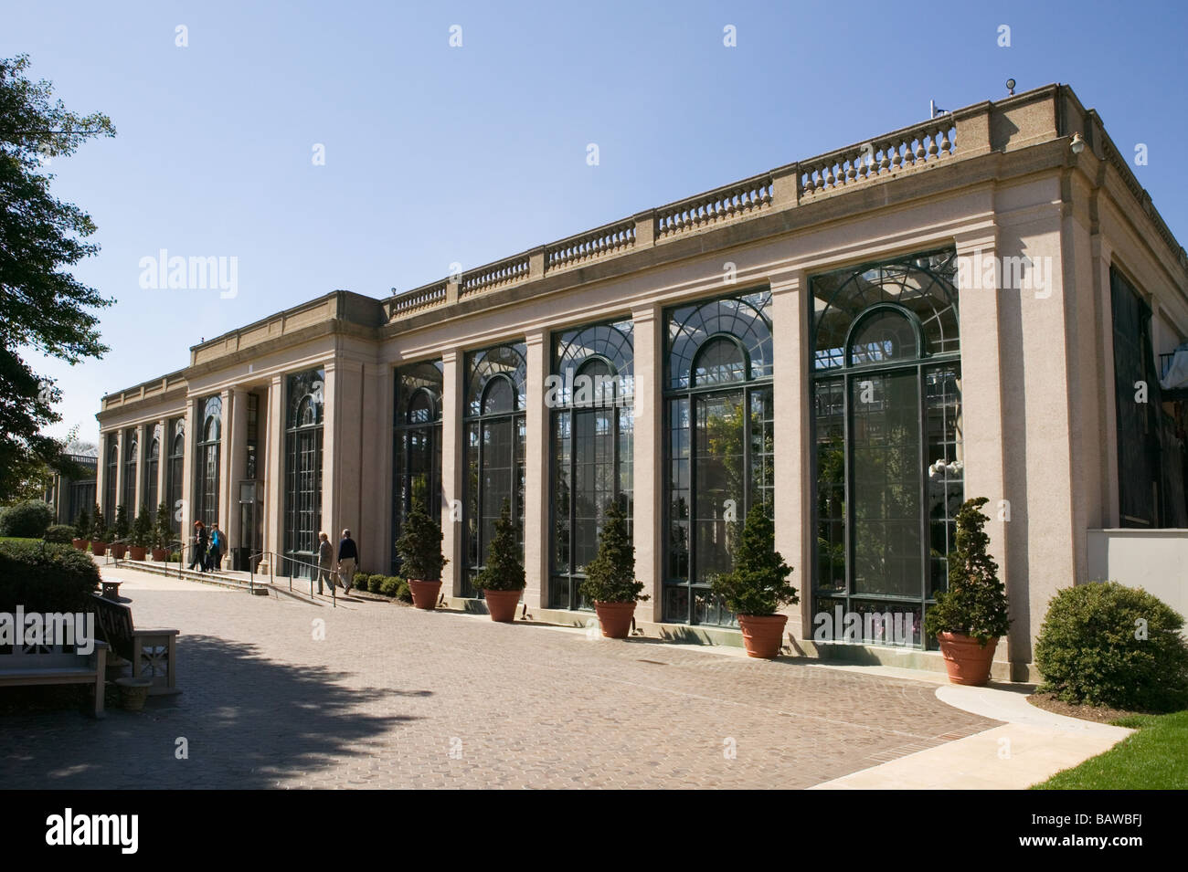 The Conservatory At Longwood Gardens In Kennett Square Pennsylvania Is One  Of The Largest Greenhouses In