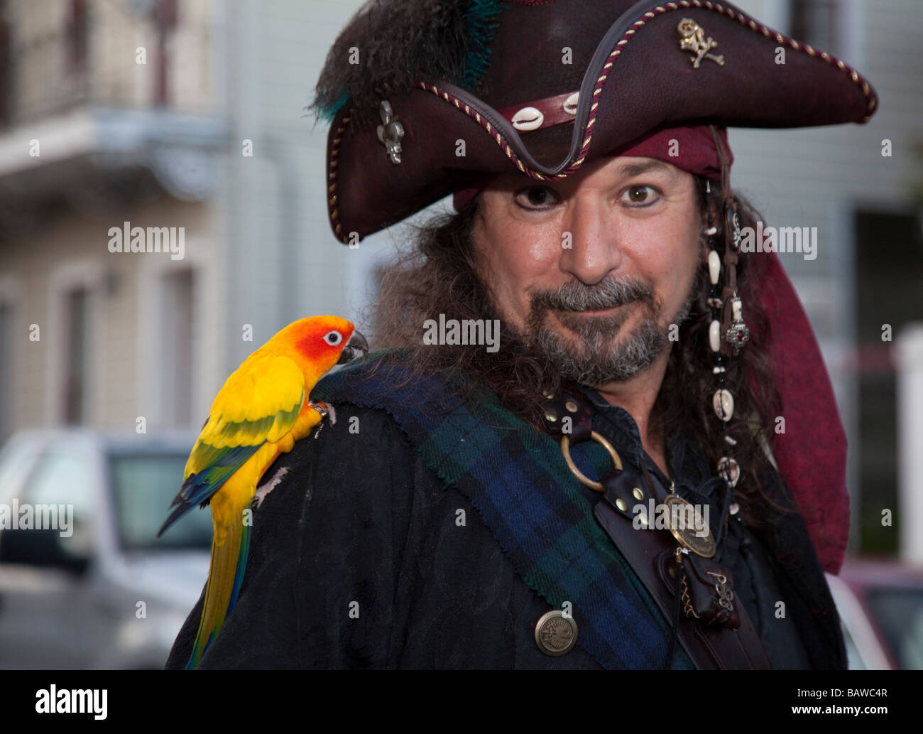 Pirates Parade in New Orleans - Stock Image  sc 1 st  Alamy & Parrot Costume Stock Photos u0026 Parrot Costume Stock Images - Alamy