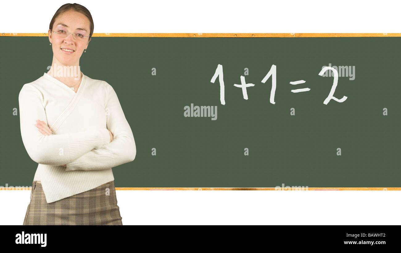 Beutifull Girl Teacher