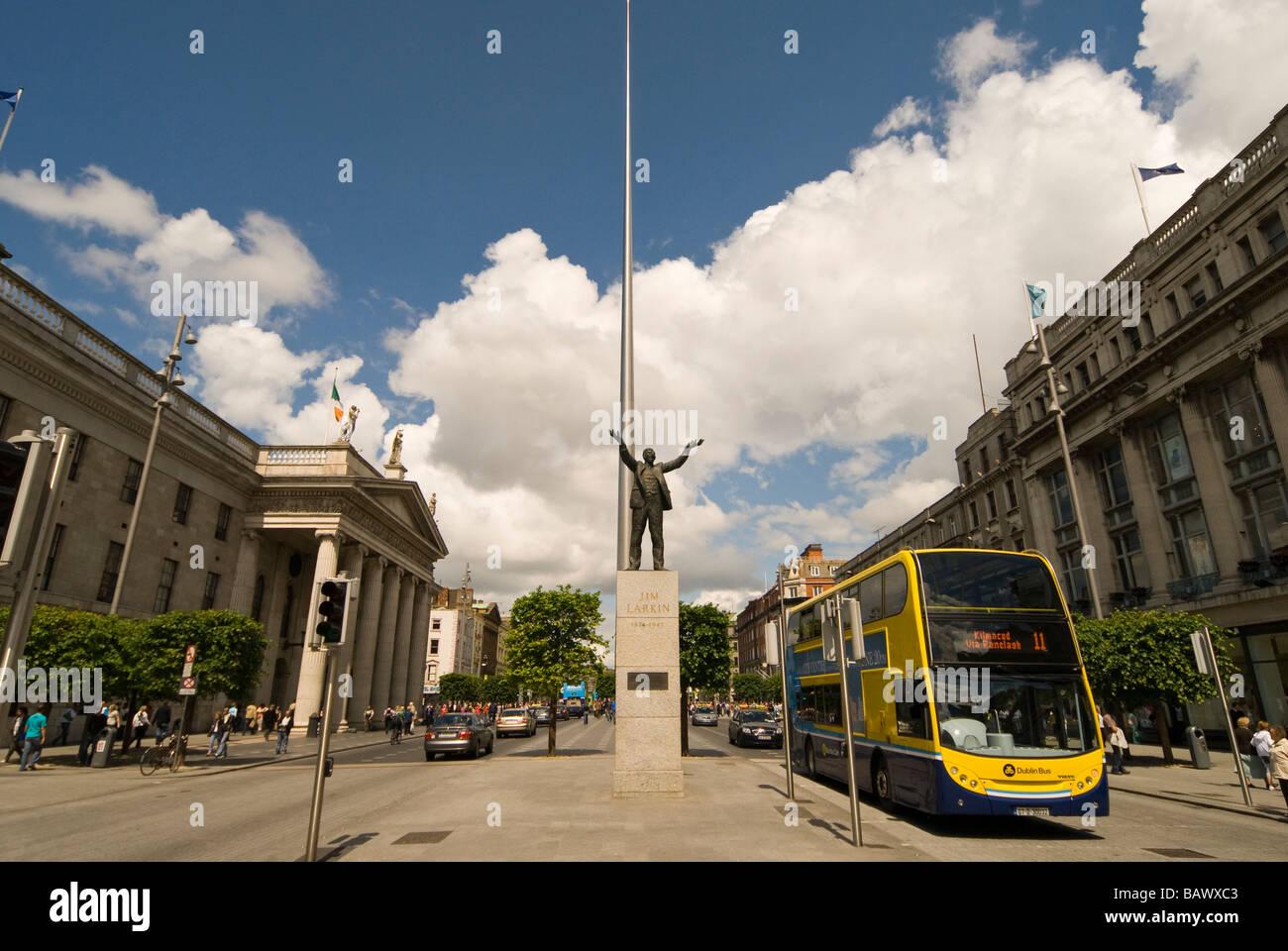 The Dublin Spire - Stock Image
