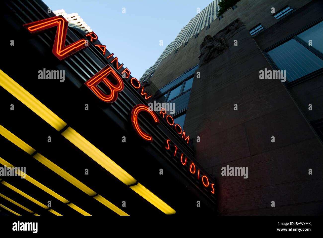 NBC Studios New York - Stock Image
