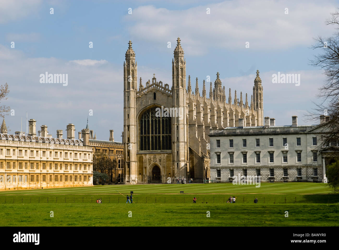 King's College Chapel Cambridge University - Stock Image