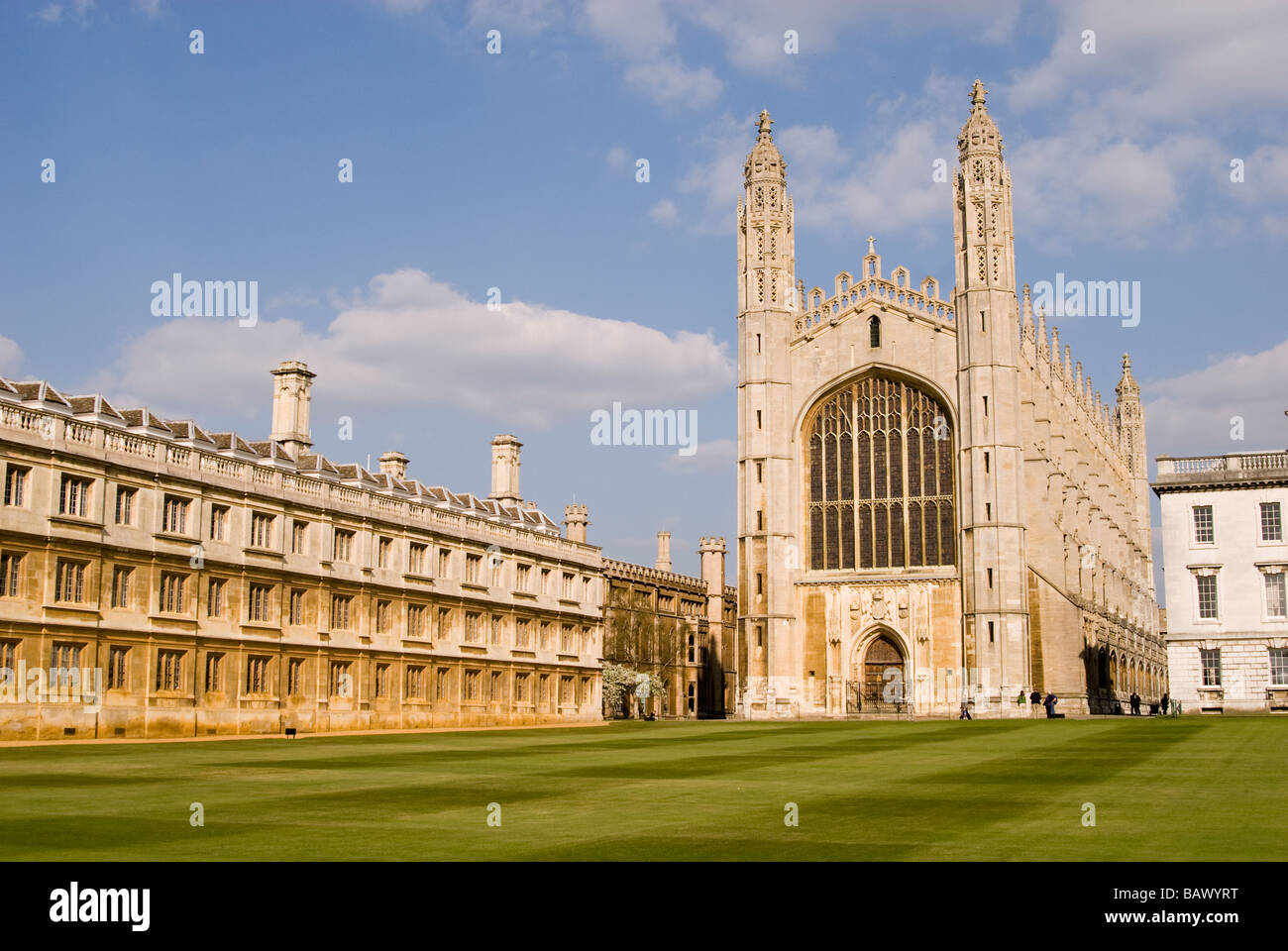 King's College Chapel Cambridge University - Stock Image
