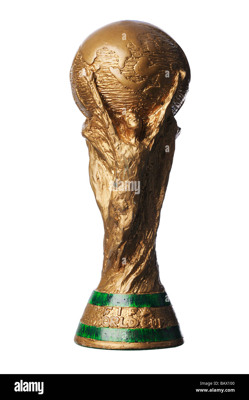 FIFA World cup trophy copy - Stock Image