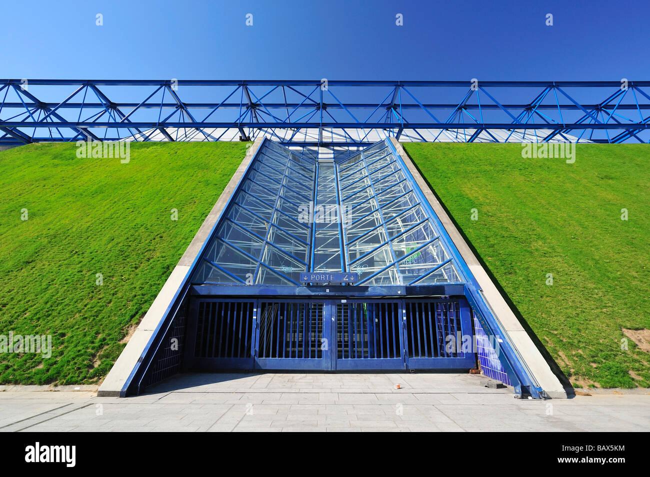Palais Omnisports Paris Bercy, Paris, France - Stock Image