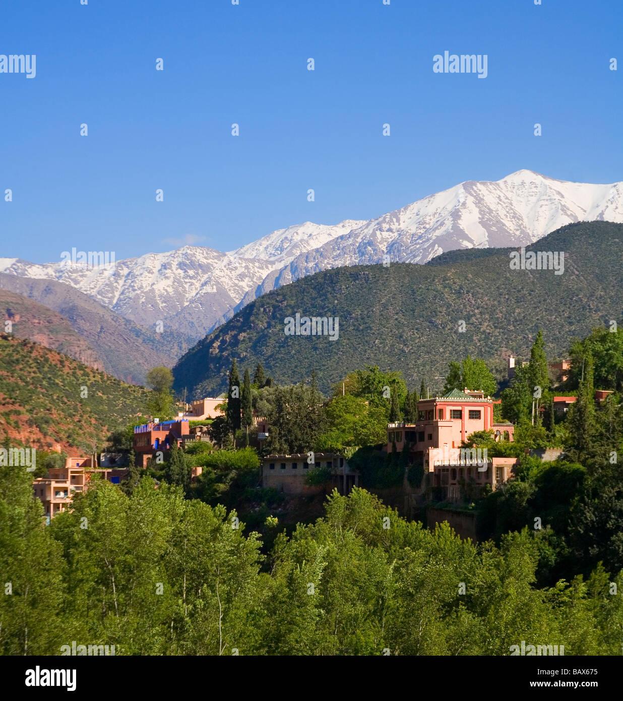 Ourika Valley Morocco near Marrakech - Stock Image