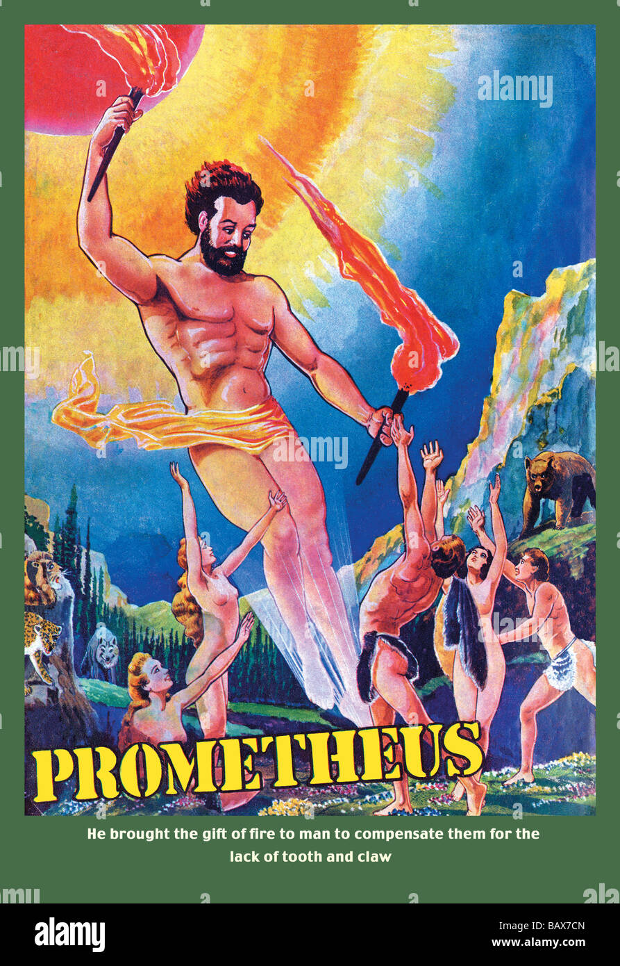 Prometheus - Stock Image