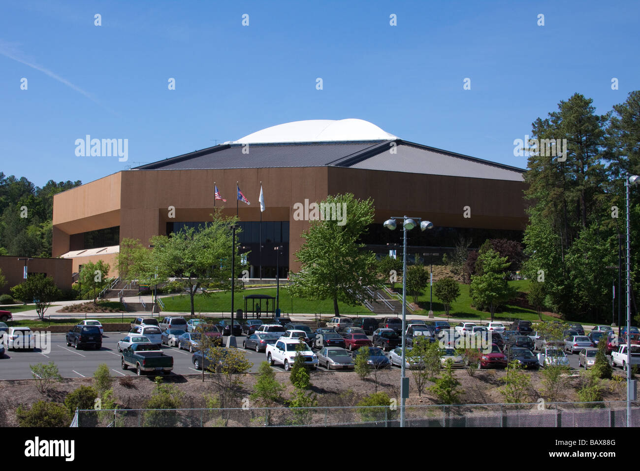 Dean Smith Center (Deandome), University of North Carolina, Chapel Hill - Stock Image