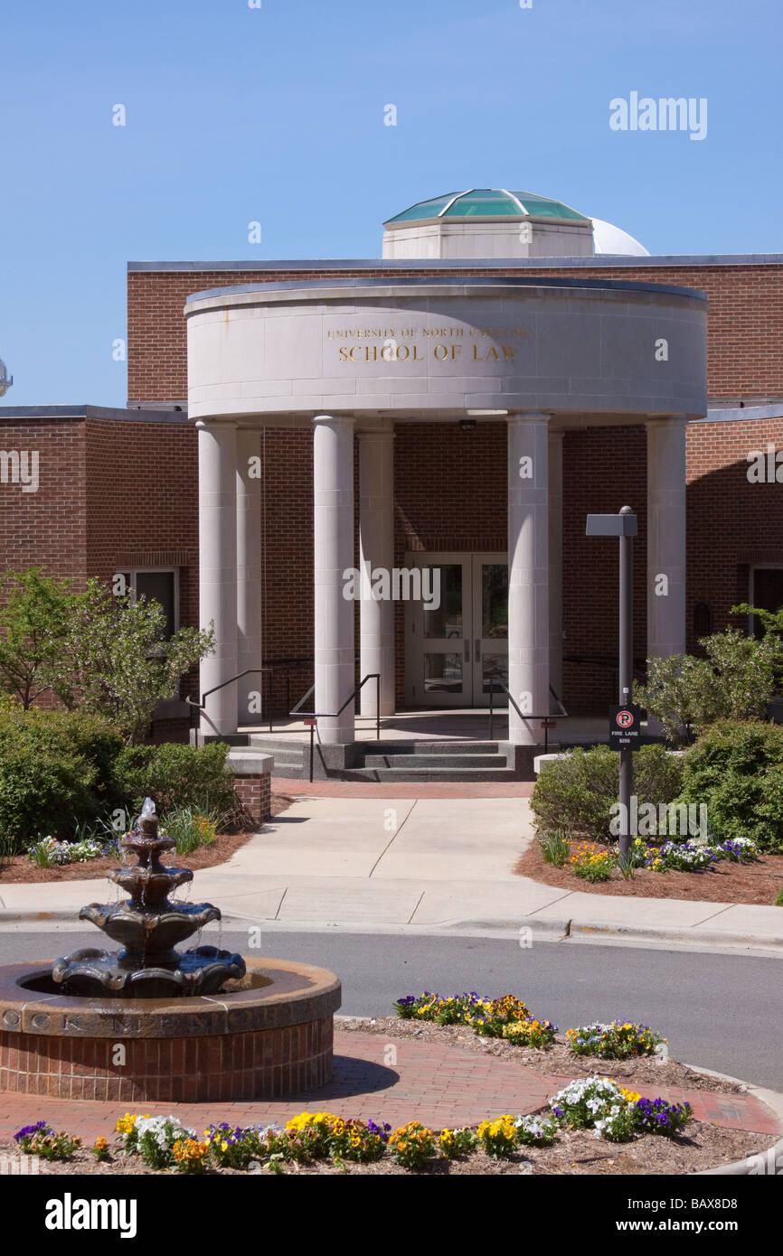 University of North Carolina Law School, Chapel Hill, NC - Stock Image