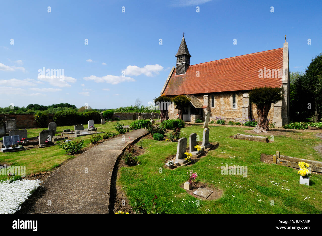 St Michaels Church, Chettisham Cambridgeshire England UK - Stock Image