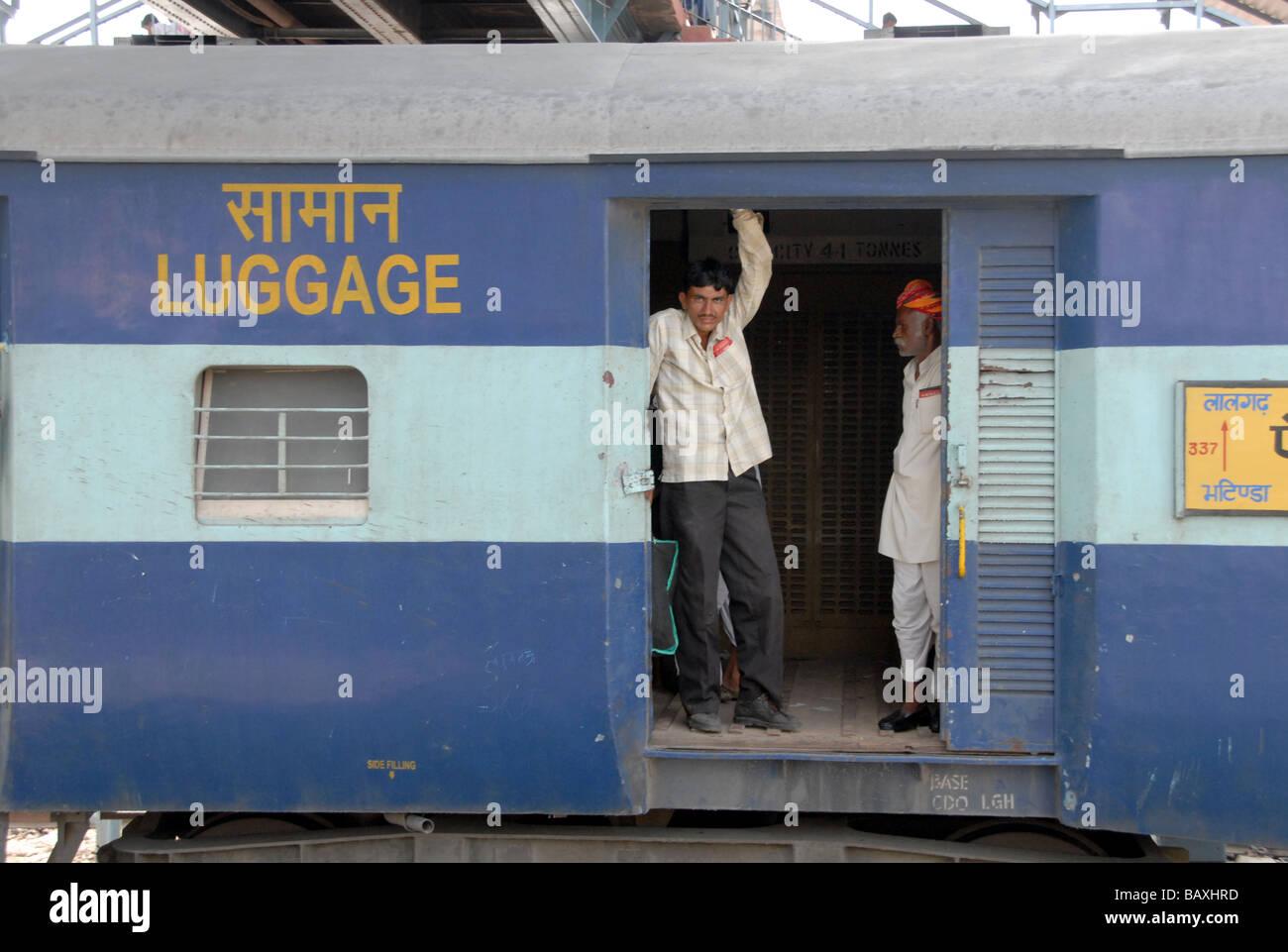 India Rajasthan Jodhpur Railways Train Stock Photos & India ...