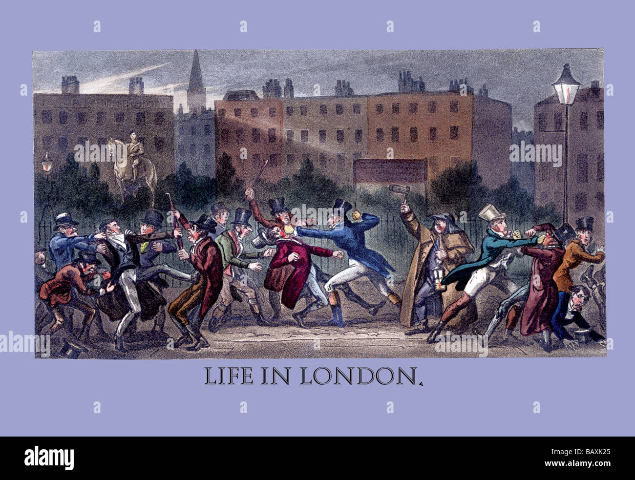Life in London - Stock Image