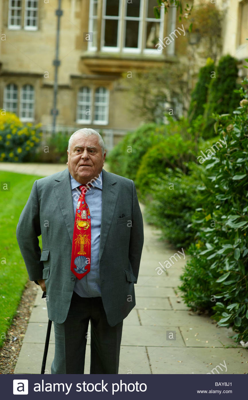 Albert Roux OBE and Legion of Honneur World famous Chef - Stock Image