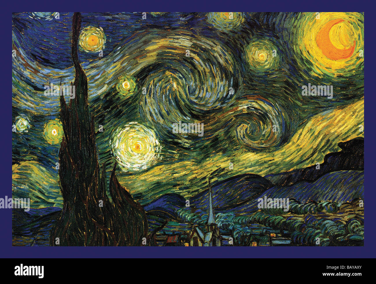 Starry Night - Stock Image