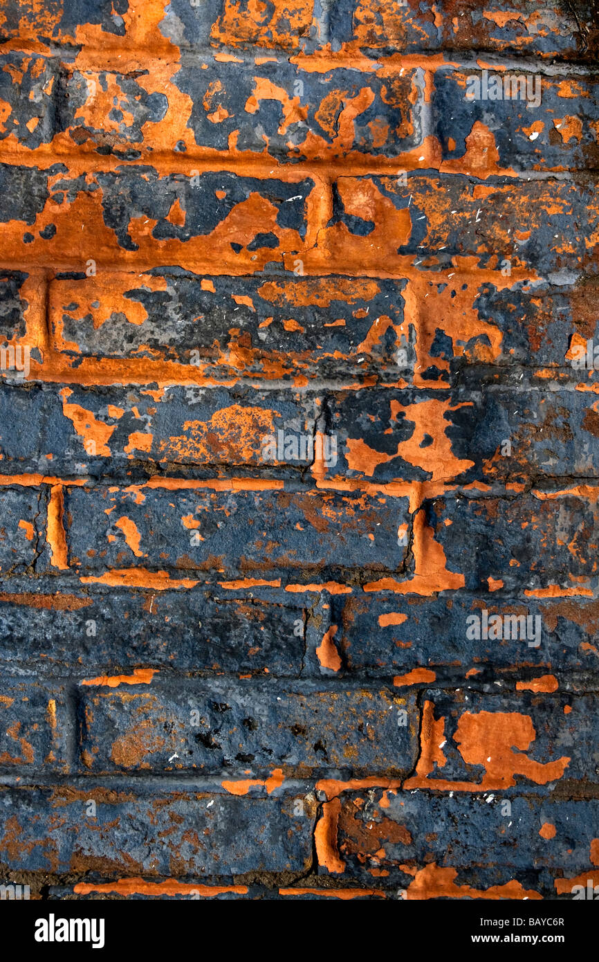 urban brick wall - Stock Image