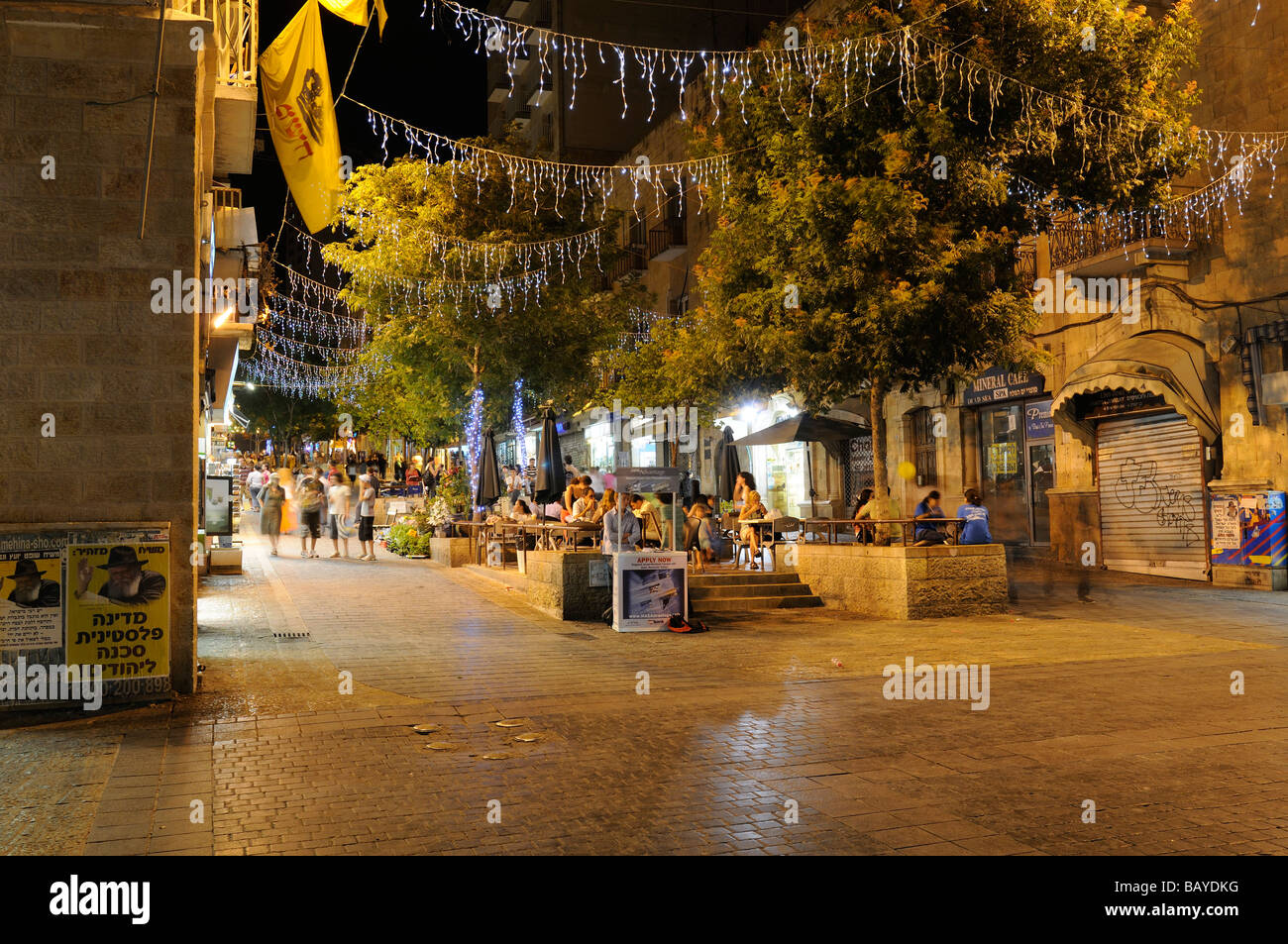 Jerusalem Ben Street Yehuda High Resolution Stock Photography And Images Alamy