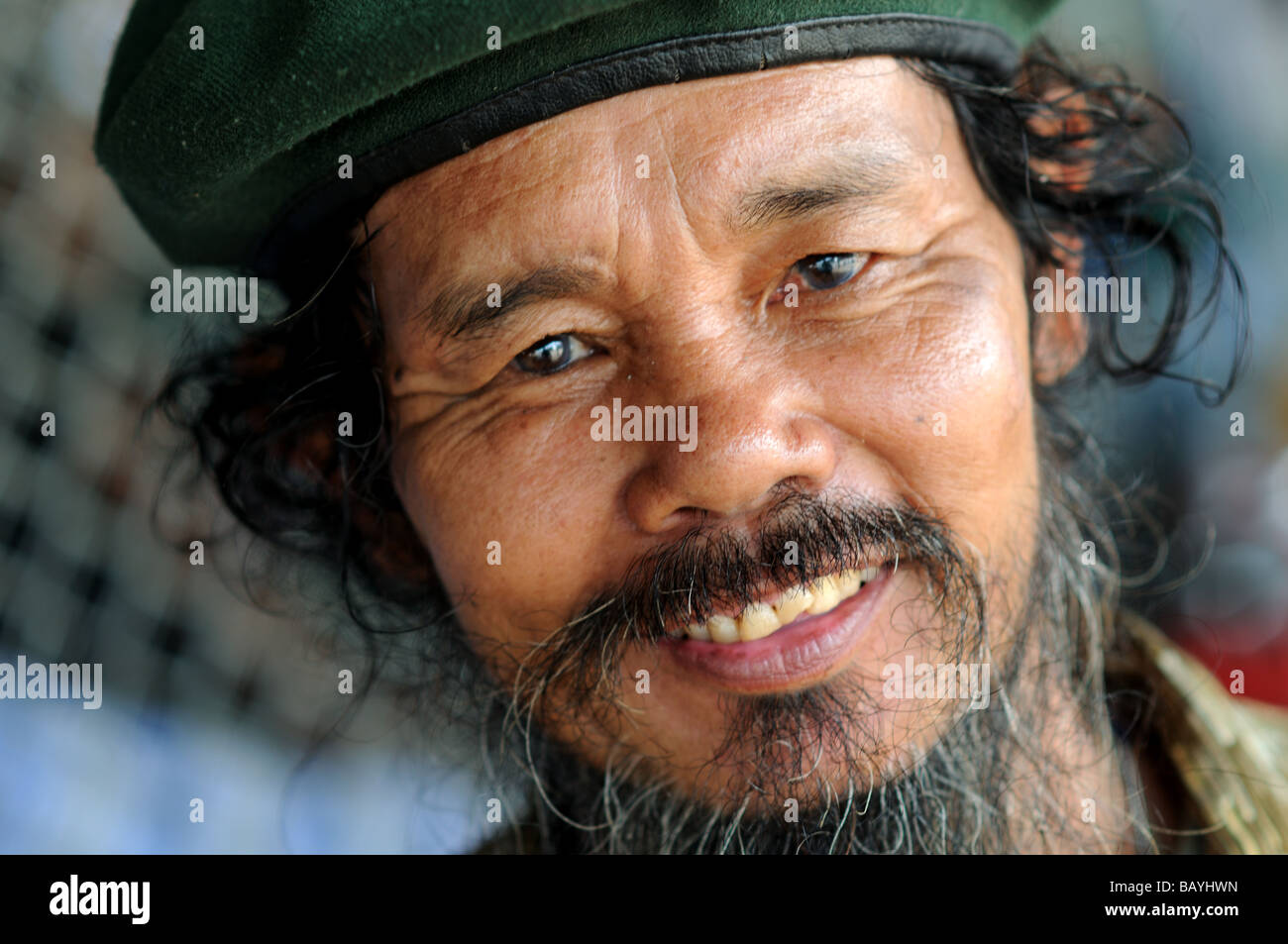 Bearded Thai Man High Resolution Stock Photography and Images - Alamy