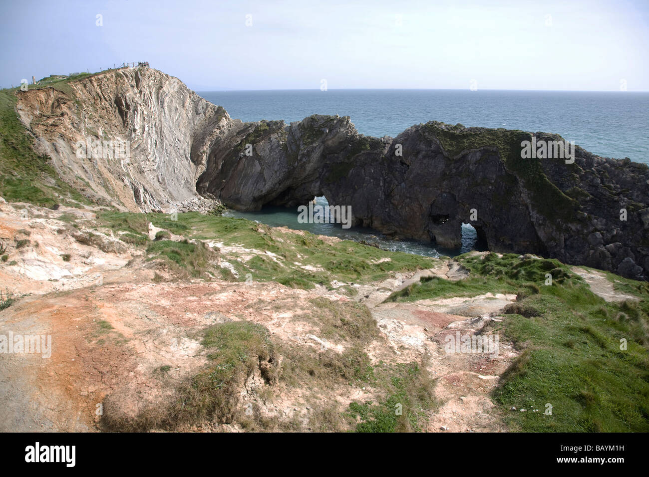 Stair Hole, Dorset, England - Stock Image